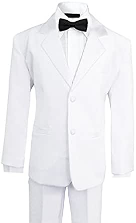 Amazon.com: Boys Tuxedo Formal Dresswear Set for Big Boys