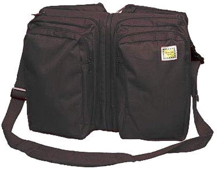 Black Zebra Triple Play 7601BZ Lilly Gold Nap-Sac Diaper Bag Bassinet
