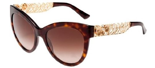 Dolce & Gabbana Women's DG4211 Havana/Brown - Dolce Gabbana Spectacles And