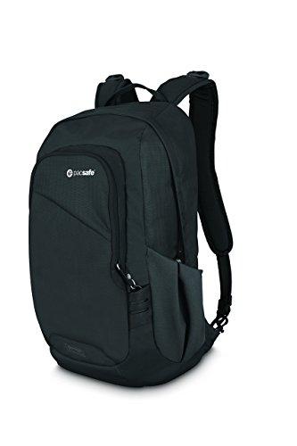(Pacsafe Venturesafe 15L GII Anti theft daypack (Black, One)