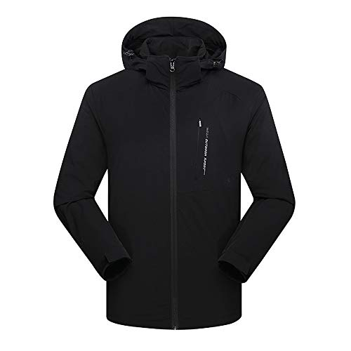 (Clearance Women's Outdoor Sport Jacket FEDULK Ski Waterproof Breathable Plus Size Puffer Coat Short Parka(Black,US Size XL = Tag 2XL))