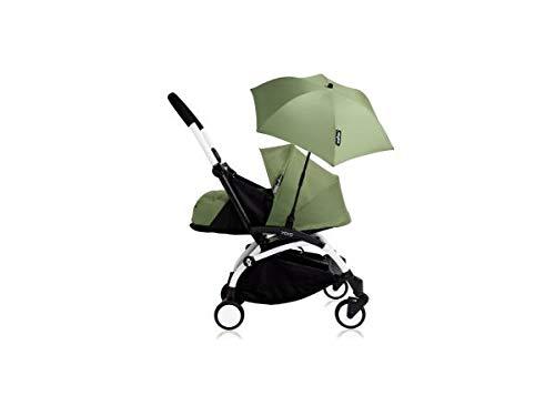 Babyzen Poussette YOYO+ 0+ (Cadre Blanc) Peppermint et Son ombrelle