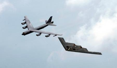Bombers Stealth Bomber B52 Military Aircraft Poster 24x36 by Unknown