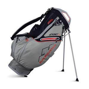 Sun Mountain Golf 2019 C-130S Stand Bag CEMENT-BLACK-RED (Cement-Black-Red) Review