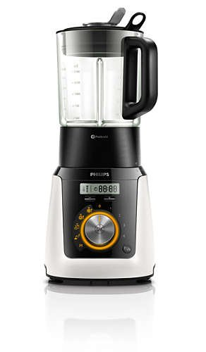 Philips Avance Collection HR2091/30 - Licuadora (2 L, 1,5 L, Paso, 2 año(s), Batidora de vaso, Negro, Blanco): Amazon.es: Hogar