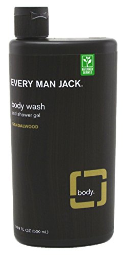 Every Man Jack - Body Wash and Shower Gel Sandalwood - 16.9