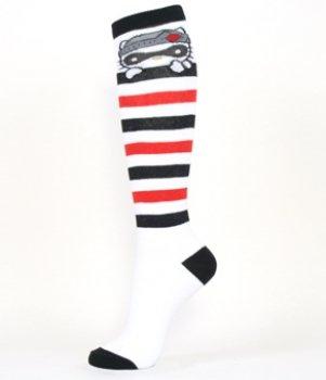 Hello Kitty Love Bandit Knee High (Hello Kitty Knee High Socks)