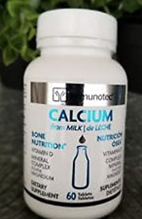 Amazon.com: Immunotec Calcium D Bone Nutrition 60 Tablets - Free Shipping!: Health & Personal Care