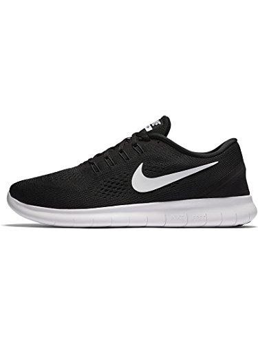 Nike Free Rn Scarpe Da Corsa Nero Bianco Antracite 831508 001