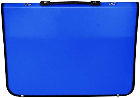 15214400 48 x 4 x 35 cm Academy Portfolio-Mappe, A3, Synthetisches Material, Royal Blau Artcare K/ünstlermappe