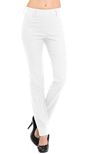 VIV Collection New Straight Fit Long Trouser Pants (Medium - 32