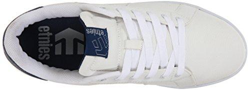 Etnies Fader LS Skateschuh Weiß / Navy / Grau