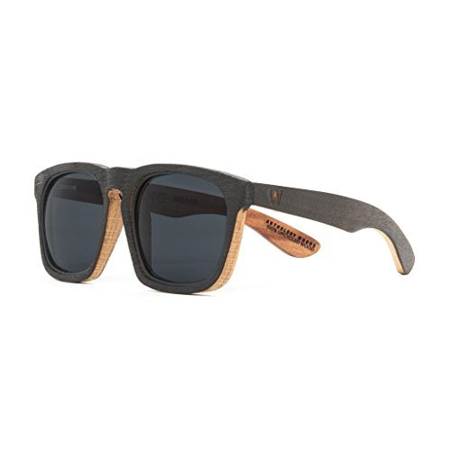 Reclaimed Men's USA-Made Wood Sunglasses - Anthology Woods + - In Usa Sunglass Made