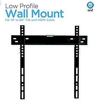 Low Profile Universal Wall Mount for 19