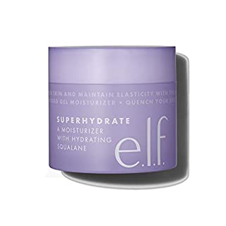 e.l.f, SuperHydrate Moisturiser, Fast-Absorbing, Non-Greasy, Gel Formula, Hydrates, Tones, Clarifies, Protects, Infused with Vitamin E, 1.69 Oz