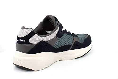 Blu Meridian navy ostwall Nvbl Uomo Sneaker Blue Skechers qUIw11