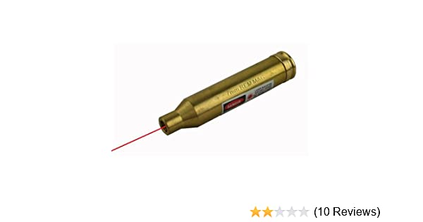 VISM 12 Gauge Shotgun Red Laser Cartridge Bore Sighter Dot Zeroing Optics