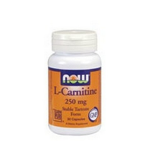 NOW Foods L Carnitine 250mg caps