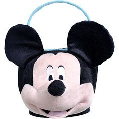 Mickey Mouse Jumbo Plush Basket- Great for Easter