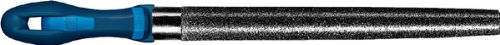 PFERD Machinist Hand File, Diamond Grit, Half-Round, Very Coarse, 8'' Length by Pferd