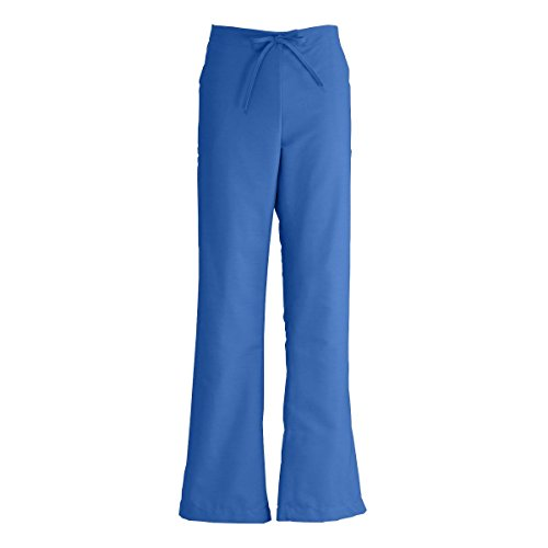 - Medline ComfortEase Ladies Modern Fit Cargo Scrub Pant, Large, Royal Blue