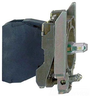 SCHNEIDER ELECTRIC ZB4BVBG4 Red Lamp Module With Bulb, Lamp