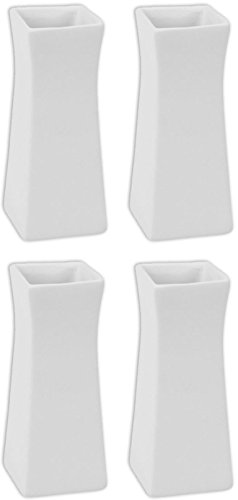 The Brooklyn Bud Vase - Set of 4 - Paint Your Own Ceramic Keepsake Vase
