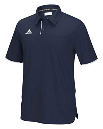 adidas Men's Adult Utility Polo Shirt Golf Sport Top Climacool 1849A (Navy 2XL)