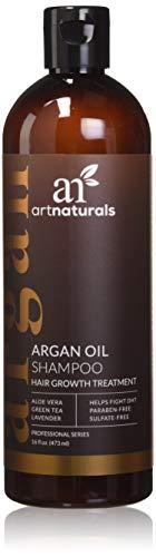 ArtNaturals Argan-Oil Shampoo for Hair-Regrowth - (16 Fl Oz / 473ml) -...