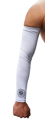 Compression Arm Sleeves (One Pair) Unisex, Perfect for Treating and Preventing Muscle Soreness, UV Protection, Temperature Regulation Great for Basketball, Baseball, Softball, Football, Rugby, Tennis