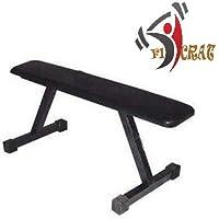 FitCrat Fitness Weight Lifting Flat Bench