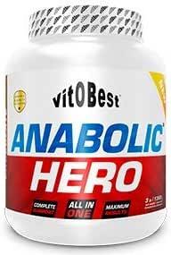 ANABOLIC HERO 3 lb - Suplementos Alimentación y Suplementos Deportivos - Vitobest (Vainilla)