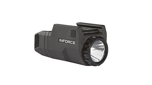 InForce APLc Compact WML Weapon Mounted White Light For Glock Auto Pistol 200 Lumens Black ACG-05-1 ()