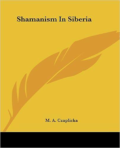 Book Shamanism In Siberia