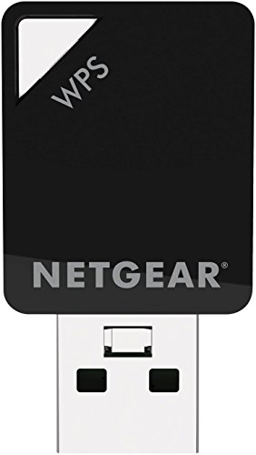 NETGEAR AC600 Dual Band Wi-Fi USB Mini Adapter (A6100) by NETGEAR (Image #1)