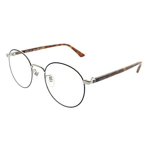 Gucci GG0297OK Eyeglasses 004 Blue/Havana 52 ()