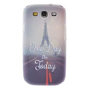 CL - Mate Estilo Cabina de teléfono del patrón caso duro durable para el Samsung Galaxy S3 I9300