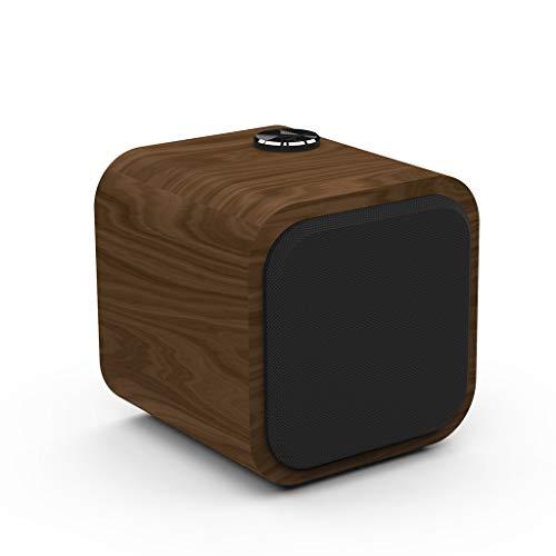 Redvive Top Portable Wooden Bluetooth Wireless Speaker 3D HiFi Stereo TWS Loudpeaker FM