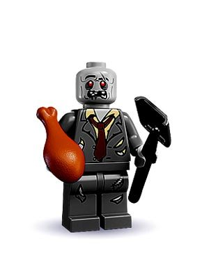 lego minifigures series 1 zombie - 1