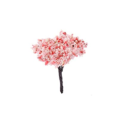 I-MART 12 Pcs Mixed Model Trees 2.4-3 Inches, Miniature Trees, Trees for Train Sets, Small Fake Trees for Dollhouse Miniatures Garden with No Stands: Toys & Games