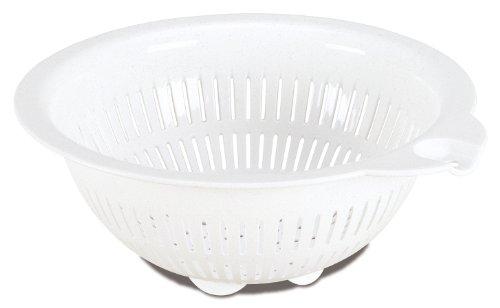 Sterilite 07650012 Colander White 12 Pack