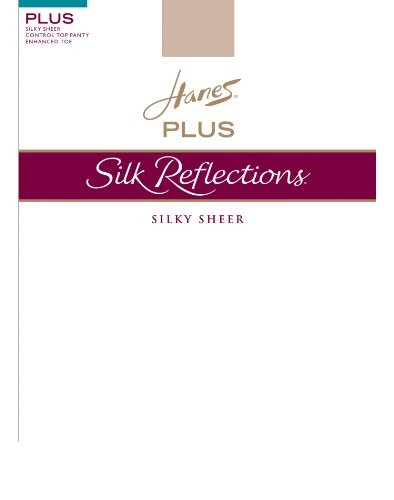 Silk Reflections Plus Sheer Control Top SF (Pack