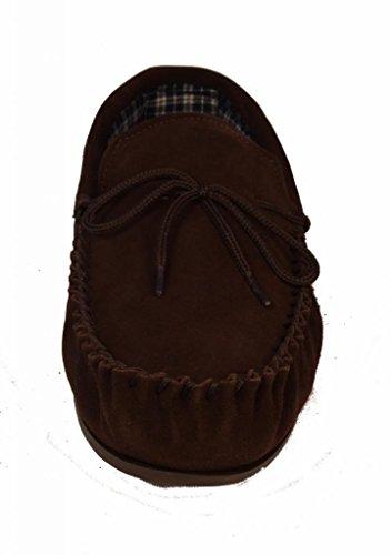 Mokkers - Zapatillas de estar por casa para hombre marrón