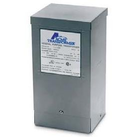 Acme Electric T153006 Transformer, 150VA, 1P, 240/480V, 120/240V, Isolation by Acme Electric