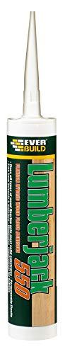 Everbuild Lumberjack 550 Flexible Wood Floor Adhesive - 300ml