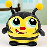 Crunchimals 6 inch Beatrix Crunch (Bumblebee) crunchable Stuffed Animals Plush Snuggle Buddy Cuddly Soft Toy Dolls Gift Series 1