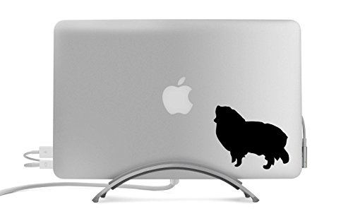 lhouette Five Inch Black Decal for Car, Truck, MacBook, Laptop, Etc. ()