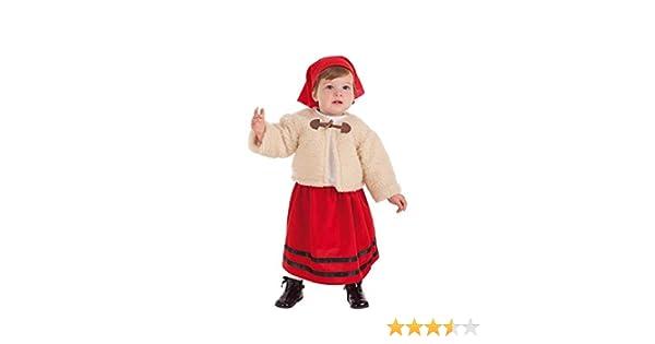 Creaciones Llopis Disfraz de Pastora con Abrigo para bebé: Amazon ...