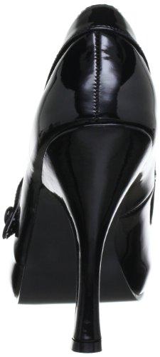 Pleaser Cutiepie-02/bpu, Zapatos de Tacón  Mujer Negro (Black Patent)