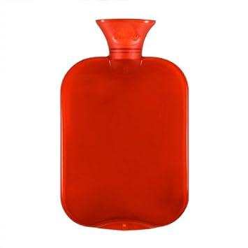 Amazon.com: Rojo Transparente Botella de agua caliente 2L ...